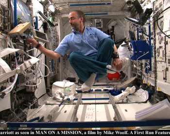 Richard Garriott as seen in MAN ON A MISSION, a film by Mike Woolf. A First Run Features release.
